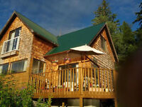 Lakelse Lake Lakefront Rustic Cabin rental or RV parking