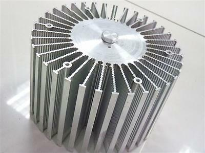 1pc Up To 100w Watt Led Aluminium Heatsink Round 220v Dia160mm100mmh