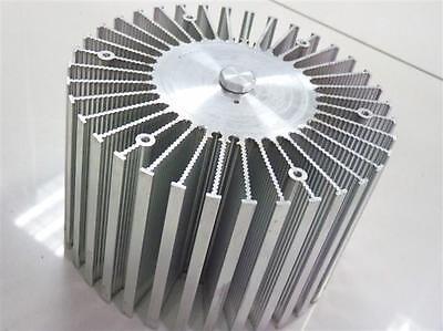 1pc Up To 100w Watt Led Aluminium Heatsink Round 220v Dia160mm100mmh