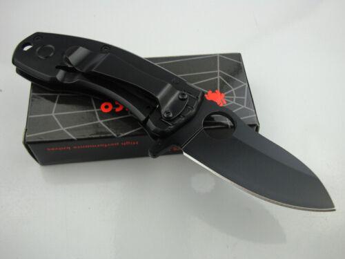 Spyderco Folding Pocket Knife Black