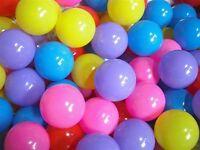 Ball pool balls (bag of 300) - over 6 bags available.