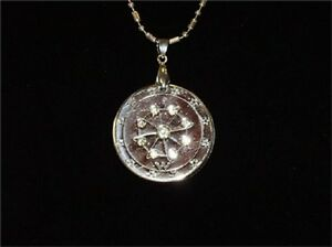 Quantum pendant ebay ehm quantum pendant silver crystal 6000 neg balance ions with scalar energy aloadofball Images