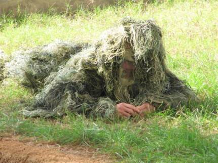 Ghillie Suit Hunting Sniper Paintball Camo Costume - Adult
