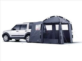 Brand New Boxed Land Range Rover Khyam Day Tent VTW500020 and Tunnel VTW500060