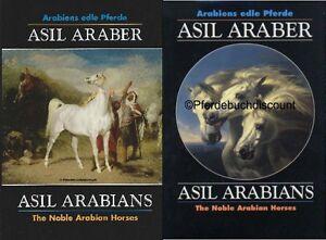 Asil Araber Asil Arabians Band V & VI Olms-Verlag - NEU - 2 Bücher im Set