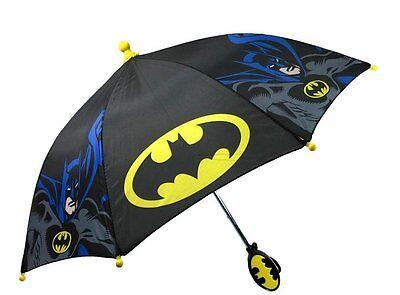 """DC Comics Batman Caped Crusader 21"""" Umbrella With 3 D Handle"""