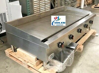 NSF 60 ins gas heavy duty griddle CD-MG60 Gas Griddle Flat TopNEW