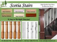 Hardwood Stair Renovations, Stair Treads, Metal Balusters