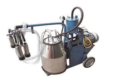 Piston Milking Machine For Cows Single Tank Extras - Shipped By Fedexdhl