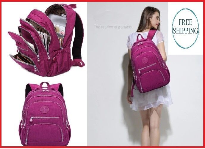 School Kipled Backpacks For Women Teens Girl Waterproof Casu