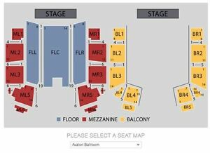 Jewel - Sold Out at Niagara Fallsview Casino Jan 12 Row 5 balcon