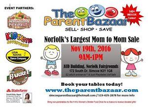 SIMCOE FALL MOM TO MOM SALE - The Parent Bazaar