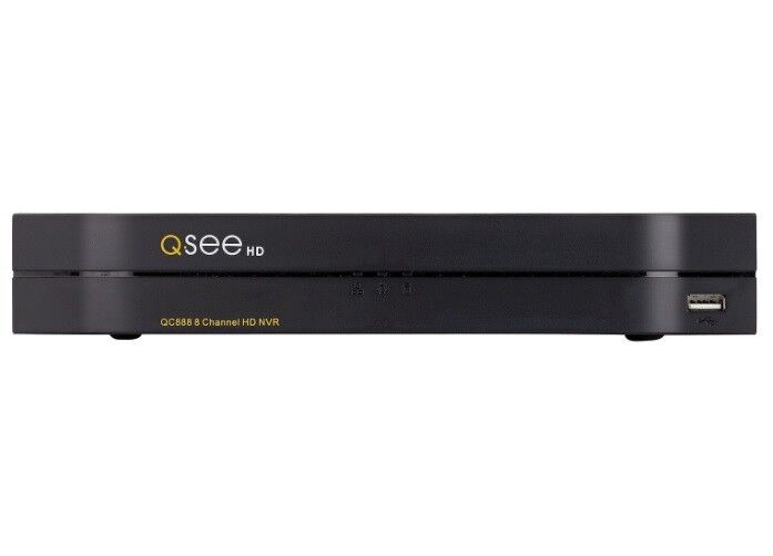 Brand NEW Q-See QC888 8 Channel HD PoE NVR 4K Security 2TB Hard Drive