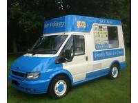 2003 ice cream van 12 months mot all new parts brand new r pump and brand new bock compressor