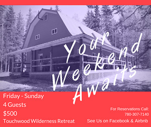 Touchwood Wilderness Retreat - Life's Better at the Cabin!