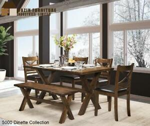 OAK DINING ROOM SET (MA2233)