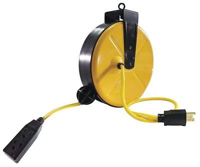 Retractable Cord Reel With 30 Ft. Cord 3-outlet 143 Lumapro 2ykt5