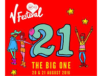 2 red camp weekend V festival Chelmsford tickets