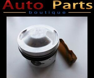 Fiat High Compression DOHC Pistons 84.4mm Made in Italy (NEW)