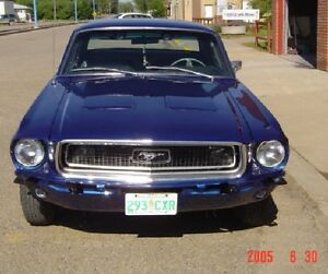 1968 Mustang Coupe, Yorkton, SK