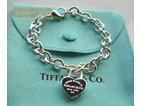 Beautiful Tiffany bracelet solid silver