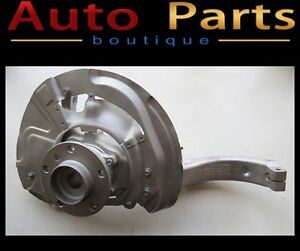 BMW X5 X6 06-15 OEM Front Left Wheel bearing carrier assembly