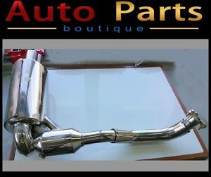 Porsche Exhaust muffler NHP Boxster Caymen 2006-2008 Left Side