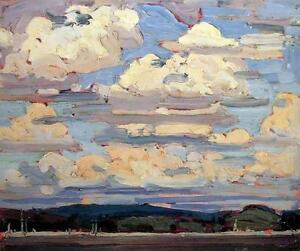 """Limited Edition """"Summer Clouds"""" by Tom Thomson"""