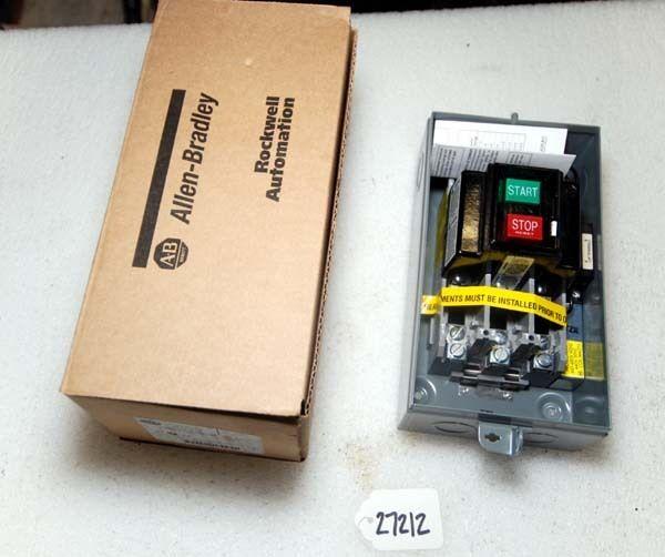 Allen Bradley Manual Starter Switch (Inv. 27212)