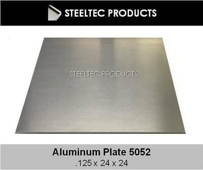 18 .125 Aluminum Sheet Plate 24 X 24 5052