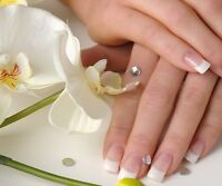 Models Required for French White Nail FILLS only!