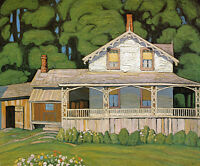 """Limited Edition """"House in Barrie"""" by Lawren Harris"""