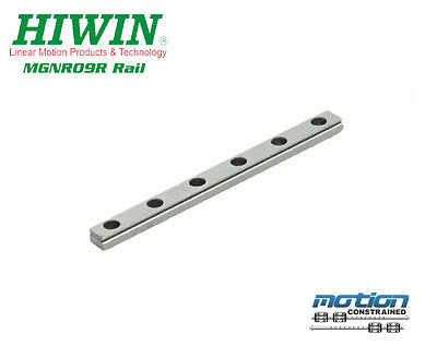 New Hiwin Mgnr9r Linear Guideway Rail Mgn9 Series Up To 1190mm Long