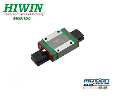 New Hiwin Mgn15c Short Standard Block Mgn15 Series 15mm