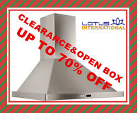 Range Hood Clearance&Open Box Sale!!!Save Up to 70% OFF!!!