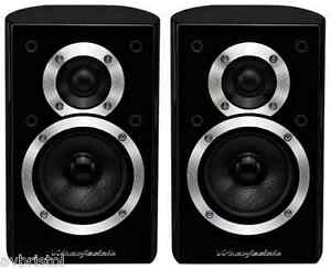 Wharfedale DX-1 Pair Wall Mountable Speakers Black Gloss Sale Sale £15 Off !!