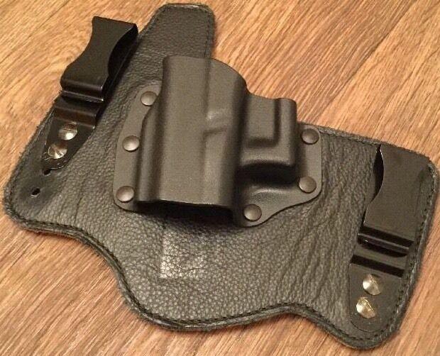 Galco Kingtuk IWB Holster - LEFT HAND, Black, For Glock 17,19,22,23,26,: KT225B