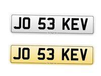 JO 53 KEV. Car Registration