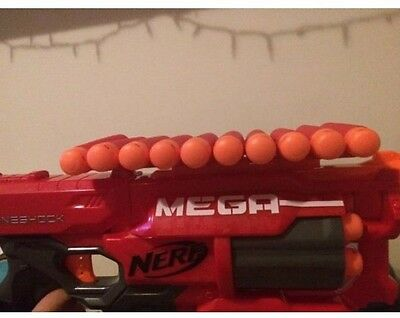 3D Printed 10 Mega Dart Holder Fits Nerf Mega (not the gun)