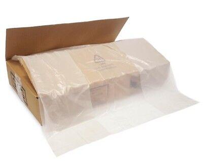 400 Clear Refuse Sacks Bin Bags 150G  Rubbish Scrap / Waste Large (18x29x39)
