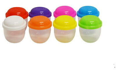 "50 EMPTY ONE INCH 1"" VENDING CAPSULES ACORN 1 INCH,ASSORTED COLOR LIDS CARNIVAL"