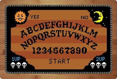Halloween Spirit Board Game (8 BIT HALLOWEEN theme ouija spirit board by Wedgie Bird)