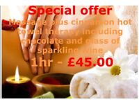 Indian massage 1hr only £45 our special Christmas offer with stunning ladies