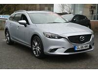 2016 Mazda 6 Tourer 2.2d (175) Sport Nav 5dr Manual Diesel Estate