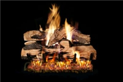 """Ventis Cord Oak Vented Gas Logs -24"""" - Natural Gas for sale  Shipping to Canada"""