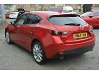 2014 Mazda 3 2.2d Sport Nav 5dr Manual Diesel Hatchback