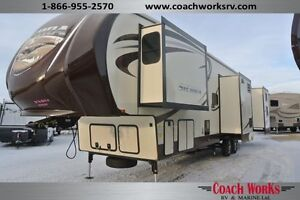 Sierra 376BHOK Bunk House. AC, LED's, Auto level.  Call 2day