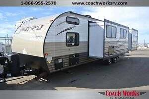 2015 Grey Wolf 29 DSFB Bunk Bed Travel Trailer