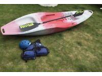 TEK Typhoon sit on top kayak