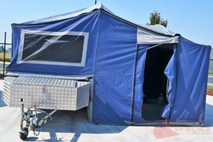 Vacation Camper trailer - UV treated PVC mesh - Thermal canvas